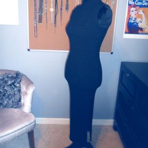 Black Dress With Slit